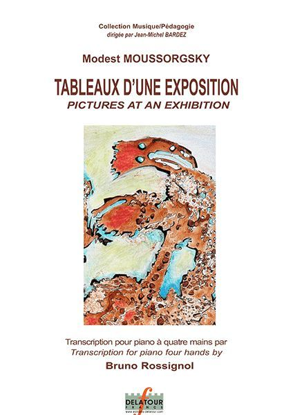TABLEAUX D'UNE EXPOSITION POUR PIANO A 4 MAINS