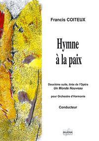 HYMNE A LA PAIX (CONDUCTEUR)