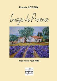 IMAGES DE PROVENCE POUR PIANO