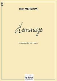 HOMMAGE POUR COR ET PIANO