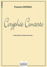 CORYPHEE CONCERTO POUR CORNET ET REDUCTION PIANO