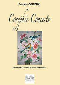 CORYPHEE CONCERTO POUR CORNET ET ORCHESTRE D'HARMONIE (CONDUCTEUR)