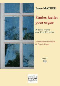 ETUDES FACILES POUR ORGUE - VERSION FRANCAISE