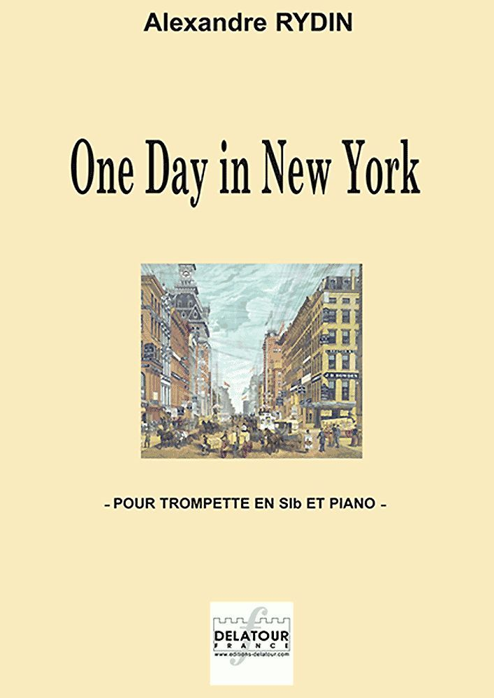 ONE DAY IN NEW YORK POUR TROMPETTE ET PIANO