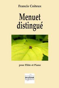 MENUET DISTINGUE POUR FLUTE ET PIANO