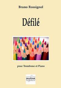 DEFILE POUR TROMBONE ET PIANO