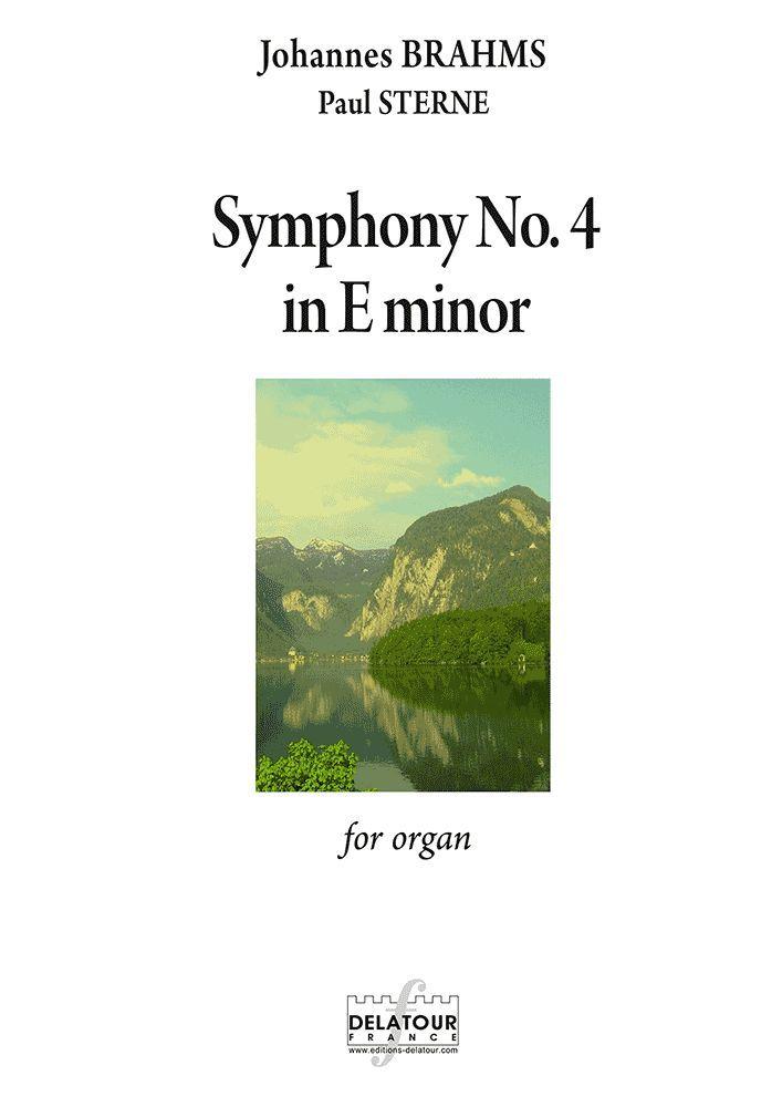 SYMPHONIE N04 EN MI MINEUR POUR ORGUE