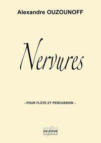 NERVURES POUR FLUTE ET PERCUSSION