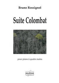SUITE COLOMBAT POUR PIANO A 4 MAINS