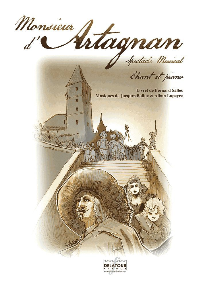MONSIEUR D'ARTAGNAN - PIANO CHANT