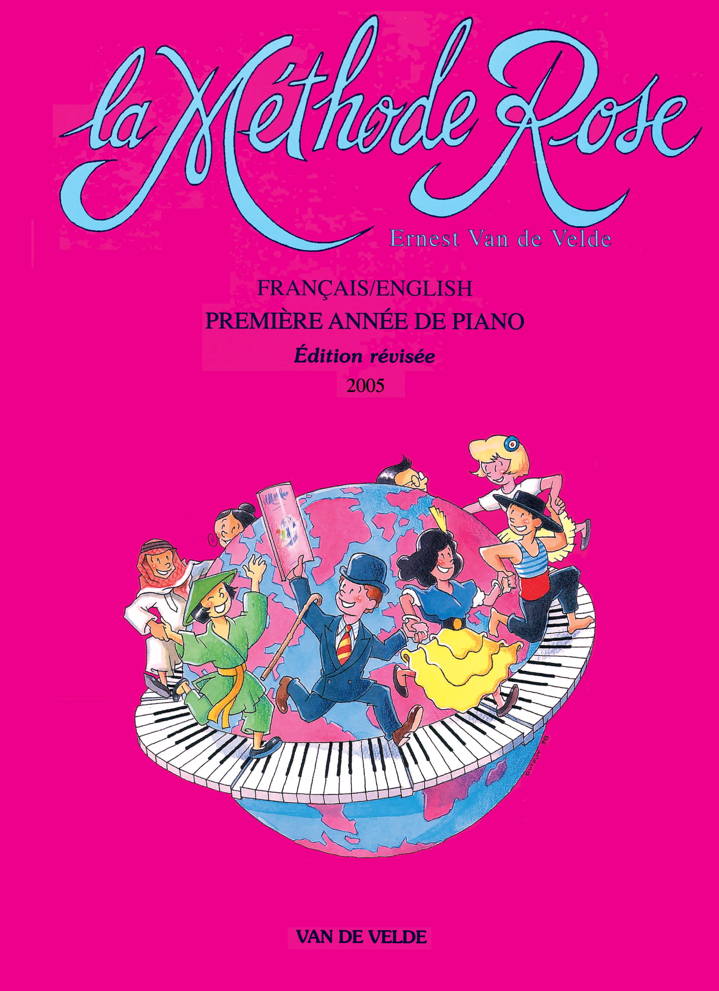 METHODE ROSE 1ERE ANNEE - PIANO