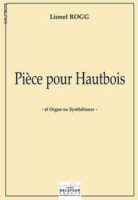 PIECE POUR HAUTBOIS ET ORGUE OU SYNTHETISEUR