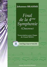 FINAL DE LA 4EME SYMPHONIE (CHACONNE) POUR ORGUE