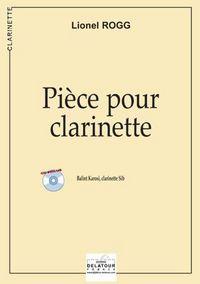 PIECE POUR CLARINETTE