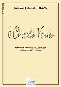 6 CHORALS VARIES POUR HAUTBOIS ET PIANO