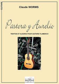 PASTORA Y AURELIO POUR GUITARE FLAMENCO