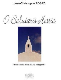 O SALUTARIS HOSTIA POUR CHOEUR MIXTE