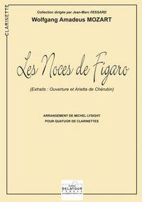 LES NOCES DE FIGARO KV 492 POUR 4 CLARINETTES