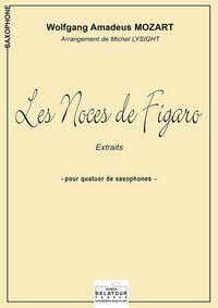 LES NOCES DE FIGARO (VERSION QUATUOR DE SAXOPHONES)