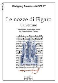 LE NOZZE DI FIGARO (OUVERTURE) POUR ORGUE A 4 MAINS