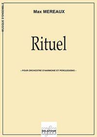RITUEL POUR ORCHESTRE D'HARMONIE ET PERCUSSIONS (CONDUCTEUR)