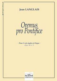 OREMUS PRO PONTIFICE (EDITION ECONOMIQUE)