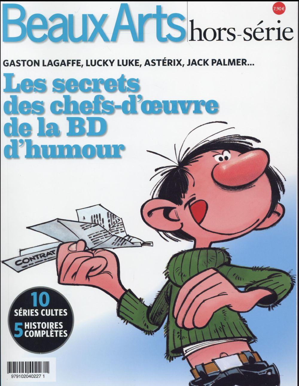 SECRETS DES CHEFS-D OEUVRE DE LA BD D HUMOUR (LES)
