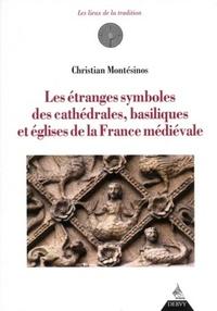 ETRANGES SYMBOLES DES CATHEDRALES BASILIQUES ET EGLISES DE LA FRANCE MEDIEVALE