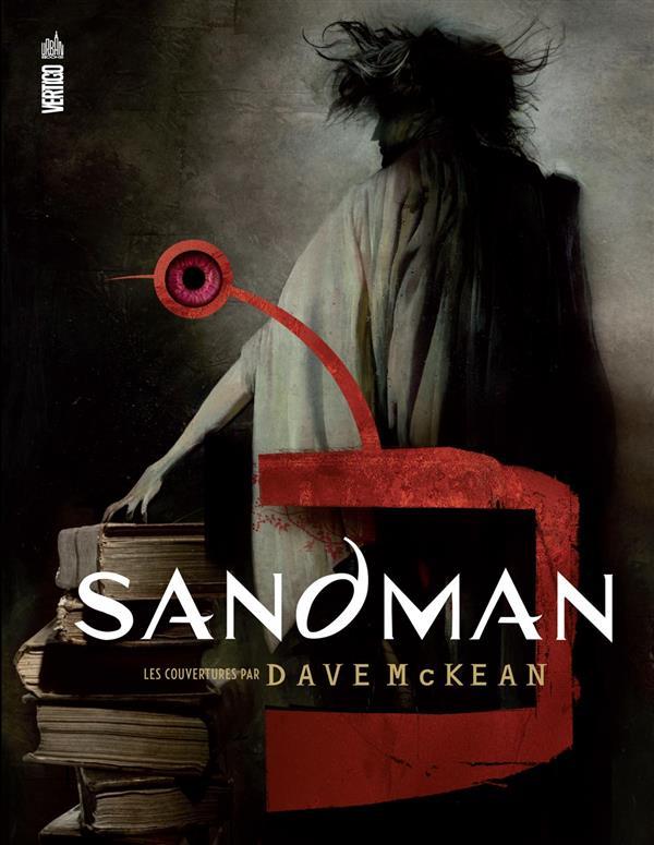SANDMAN-COUVERTURES PAR DAVE MCKEAN - URBAN BOOKS