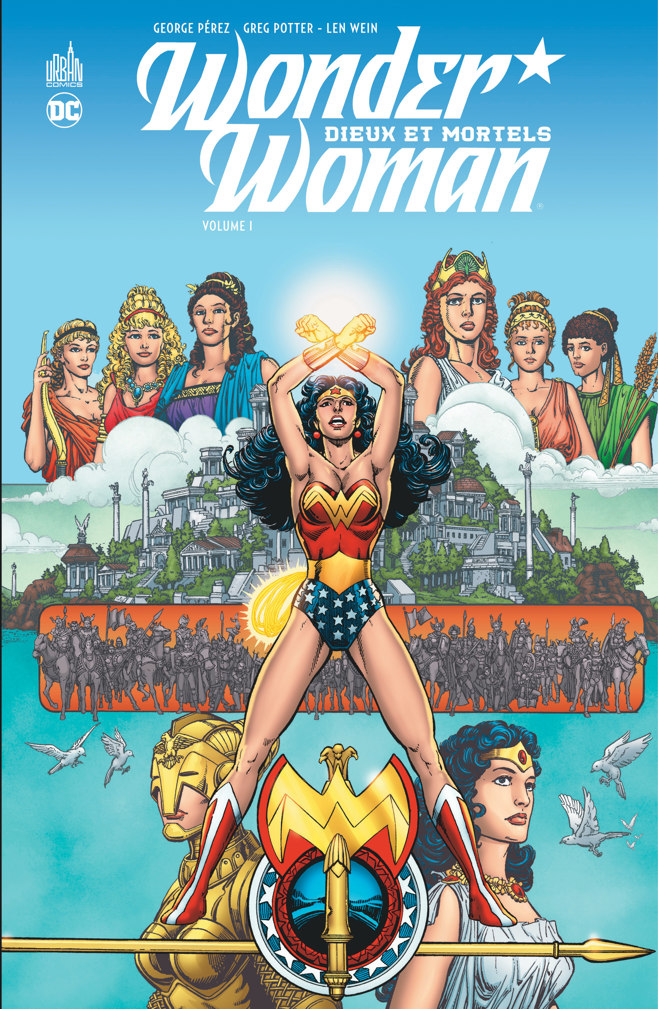 WONDER WOMEN:DIEUX ET MORTELS T1