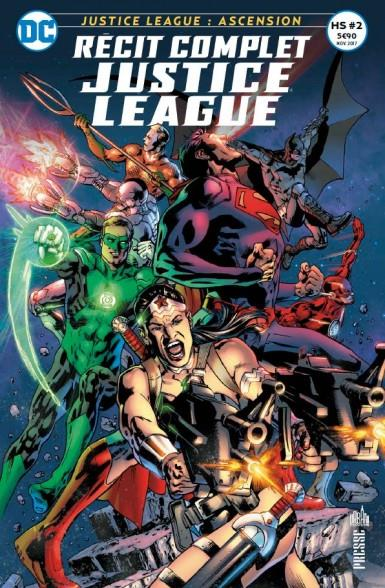 RECIT COMPLET JUSTICE LEAGUE HS 02 INTRIGUES A GRAND SPECTACLE !