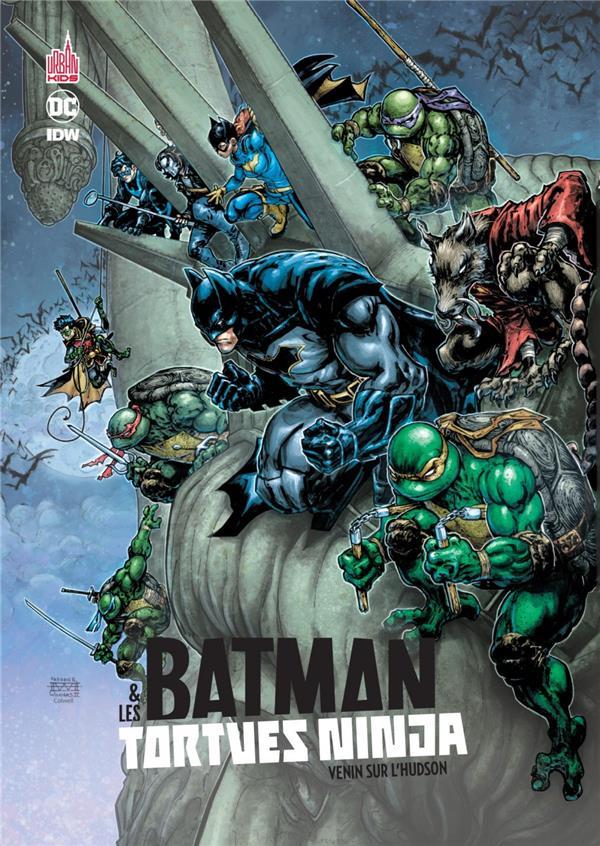 BATMAN & LES TORTUES NINJA TOME 2 - URBAN KIDS