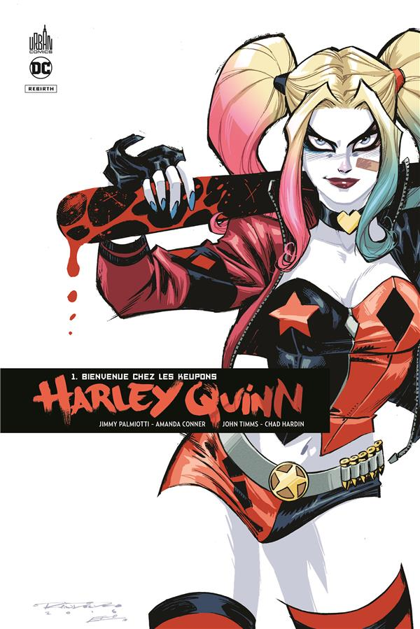 HARLEY QUINN REBIRTH TOME 1