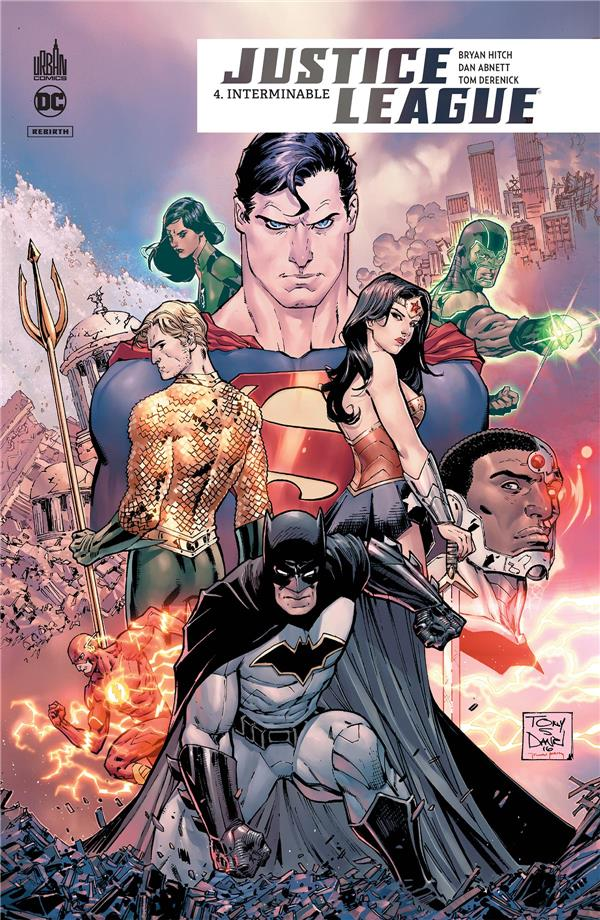 JUSTICE LEAGUE REBIRTH TOME 4