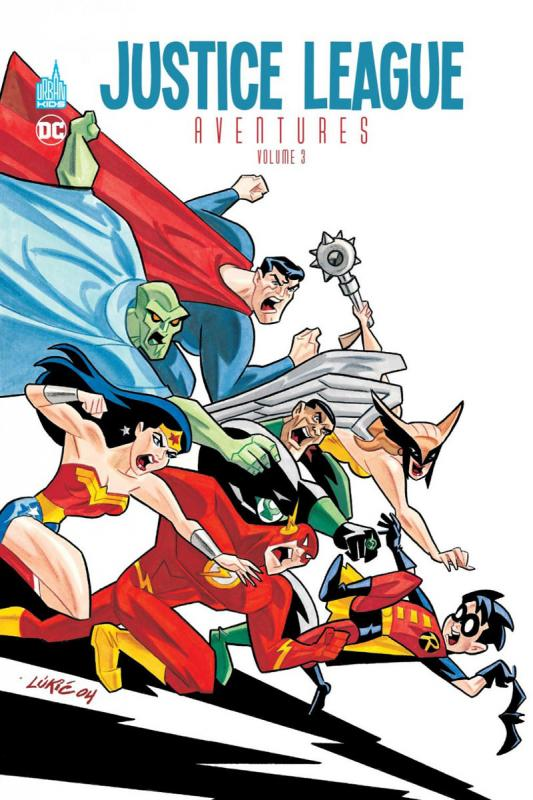 JUSTICE LEAGUE AVENTURES TOME 3