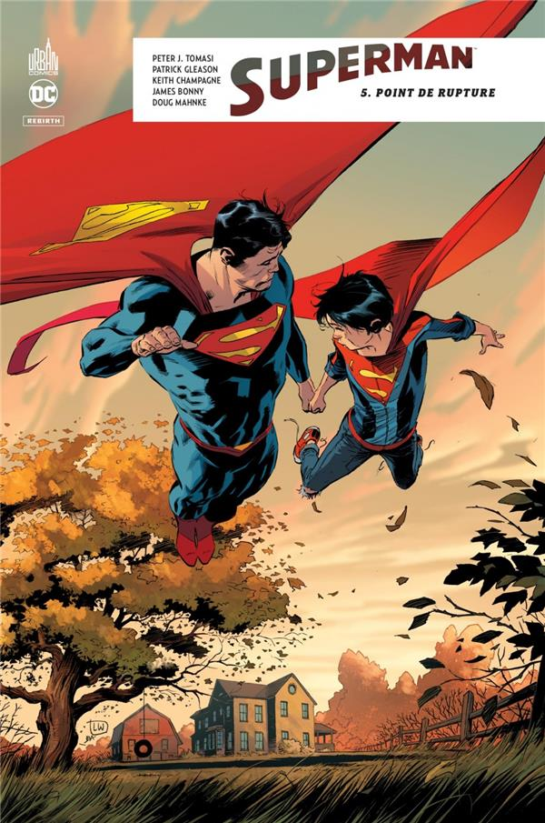 SUPERMAN REBIRTH TOME 5 - DC REBIRTH