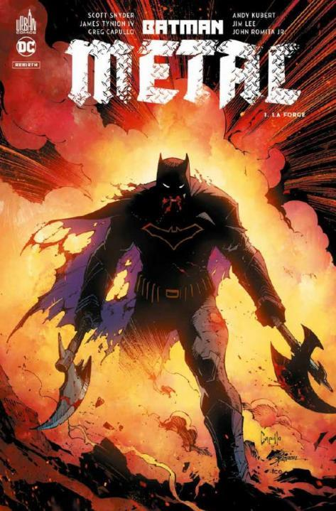 BATMAN METAL TOME 1 - DC REBIRTH