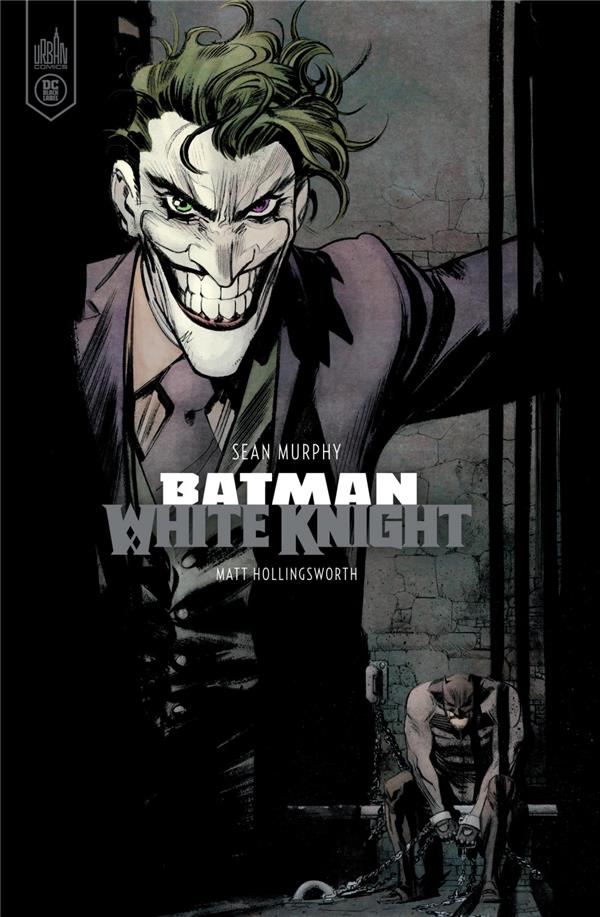 BATMAN WHITE KNIGHT - VERSION COULEUR - DC BLACK LABEL