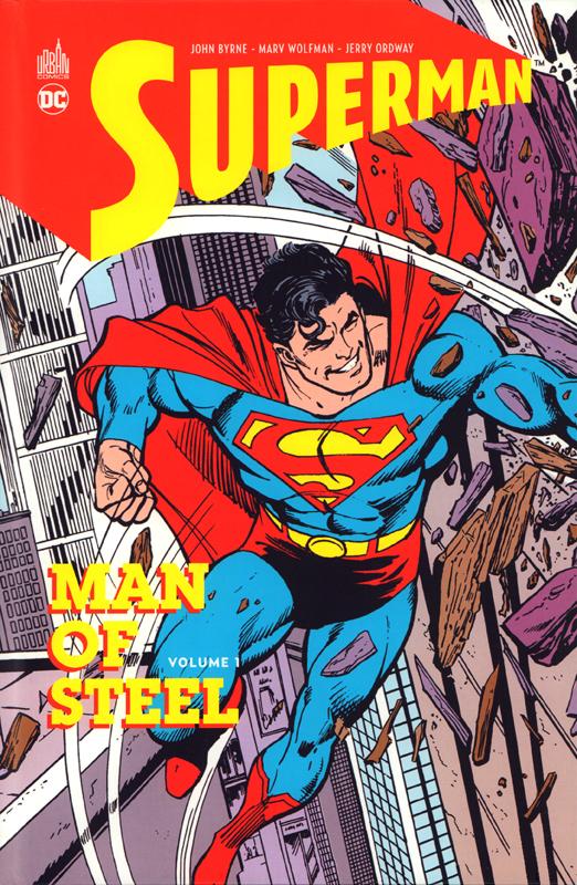 SUPERMAN MAN OF STEEL TOME 1