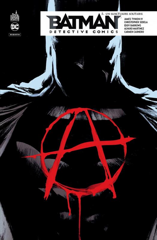 BATMAN DETECTIVE COMICS TOME 5 - DC REBIRTH