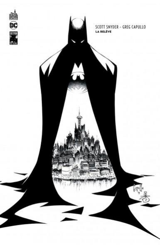 DC ESSENTIELS - T05 - BATMAN : LA RELEVE EDITION N&B 80 ANS