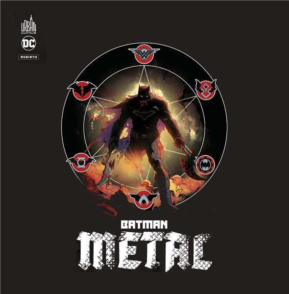 COFFRET BATMAN METAL AVEC FIGURINE, 3 ED UNIQUES ET 3 EX-LIBRIS - DC REBIRTH
