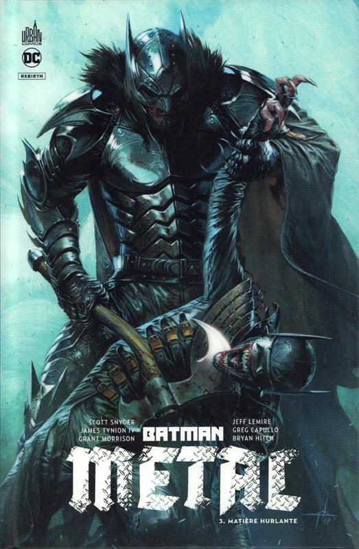 BATMAN METAL TOME 3 - DC REBIRTH