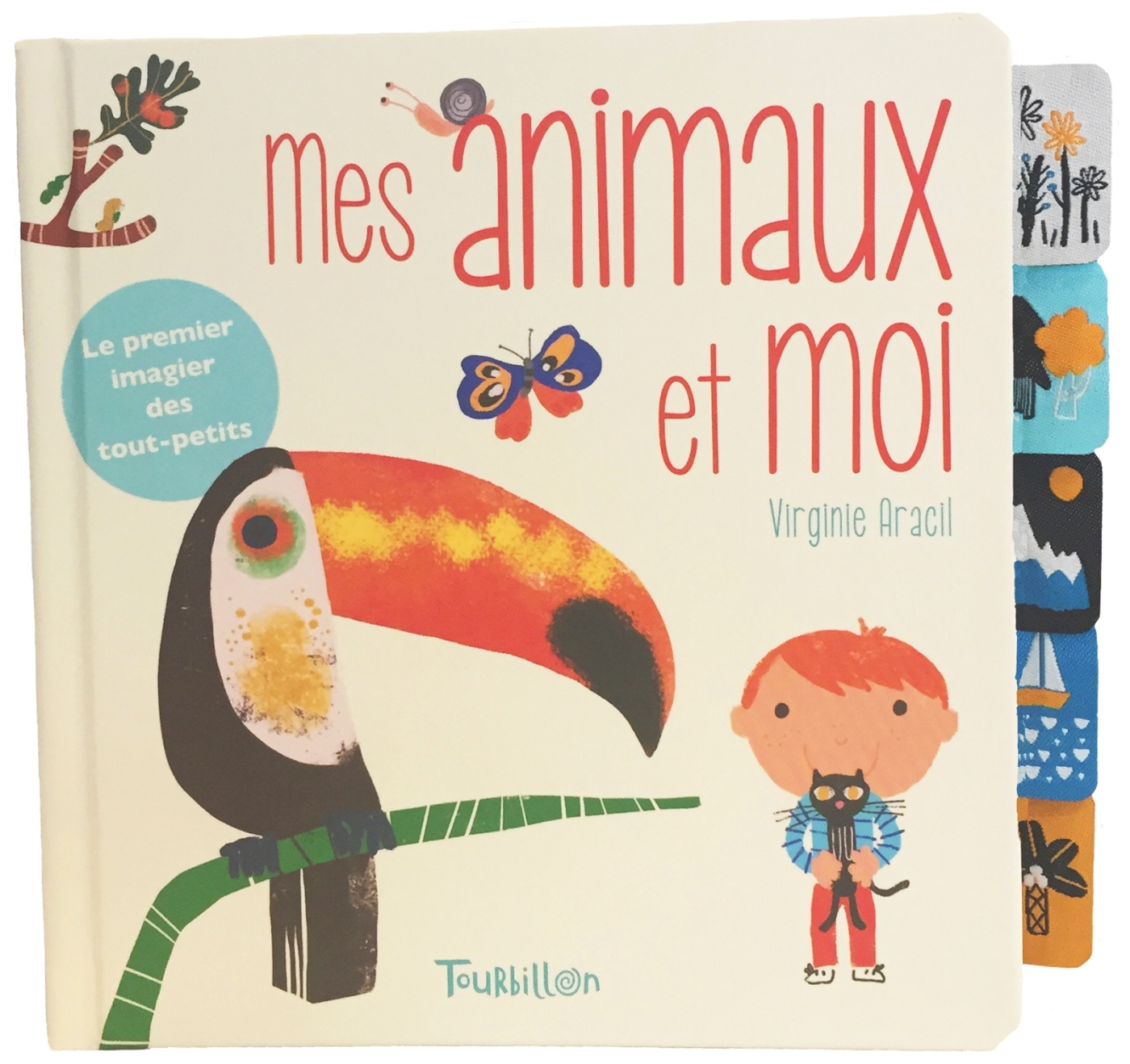 MES ANIMAUX ET MOI - ONGLETS TISSU