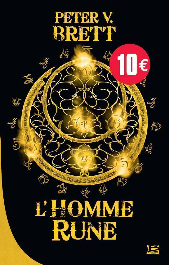 10 ROMANS, 10 EUROS 2018 : LE CYCLE DES DEMONS T1 L'HOMME-RUNE