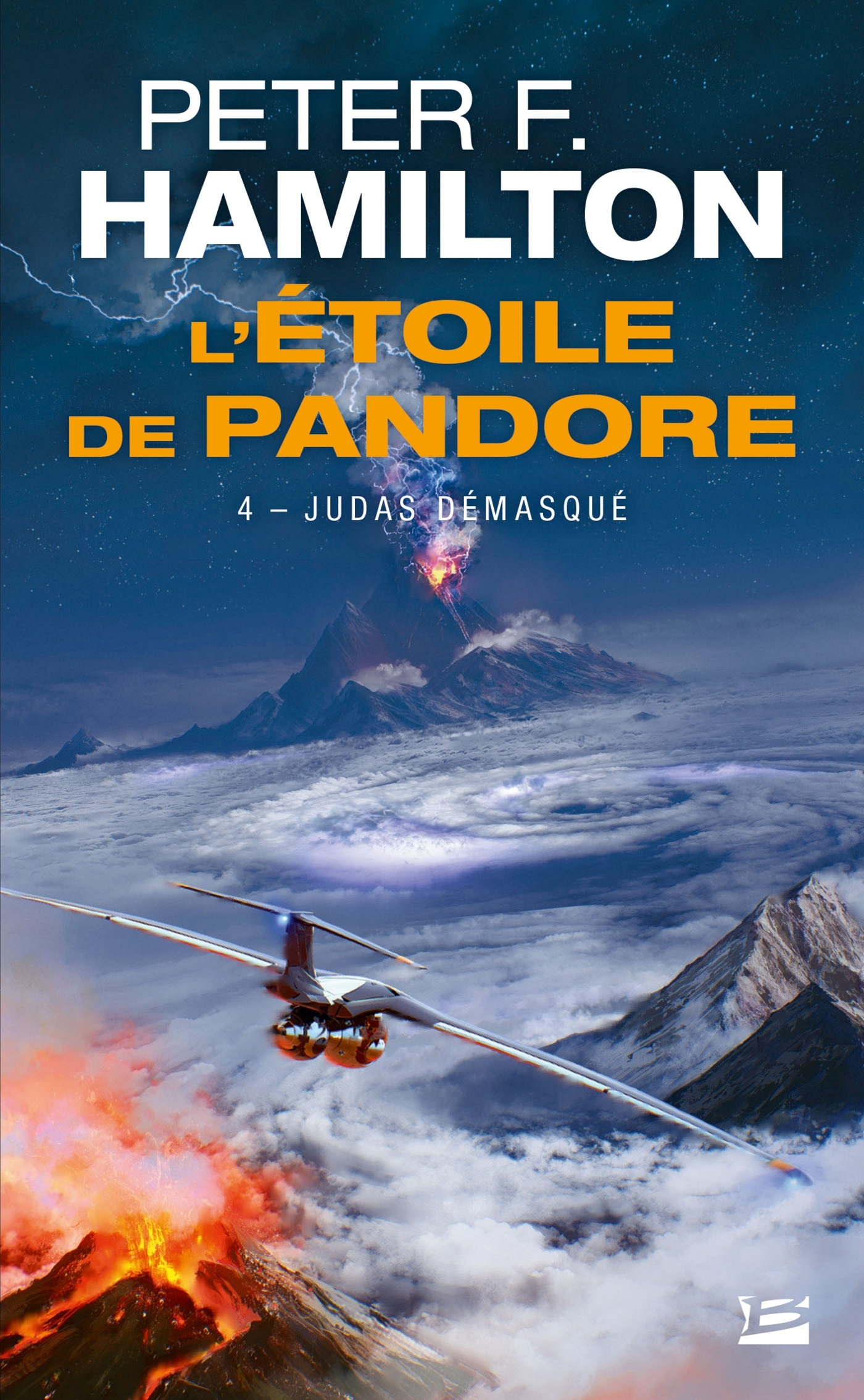 L'ETOILE DE PANDORE, T4 : JUDAS DEMASQUE
