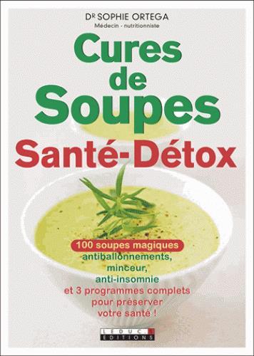 CURES DE SOUPES SANTE-DETOX