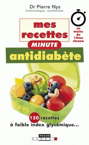 RECETTES ANTIDIABETE MINUTE (MES)