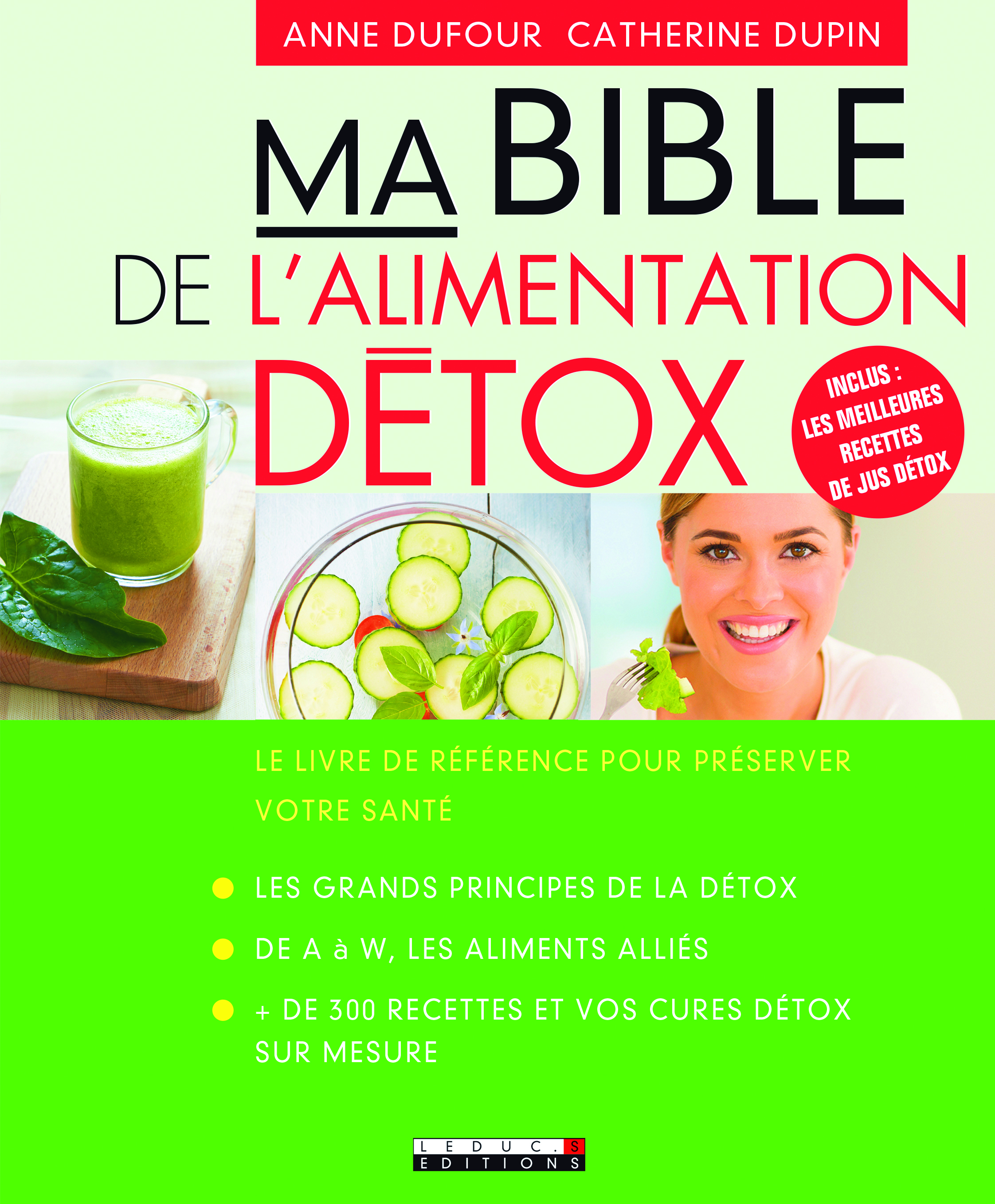 BIBLE DE L'ALIMENTATION DETOX (MA)