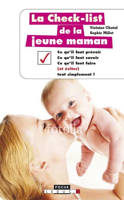 CHECK LIST DE LA JEUNE MAMAN (LA)